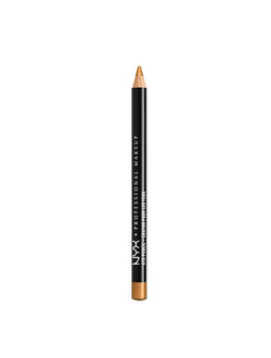 Карандаш для глаз и бровей NYX Slim Eye Pencil 09 Gold (золотой)