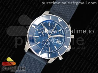 SuperOcean Heritage ii 46mm Chronograph Blue