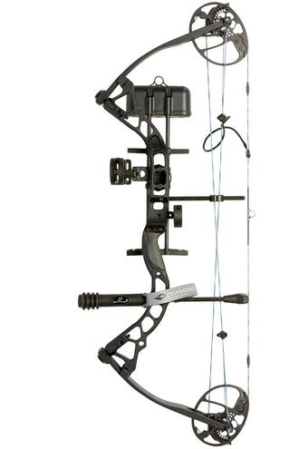Блочный лук DIAMOND  by BOWTECH INFINITE EDGE PRO RH Black КОМПЛЕКТ