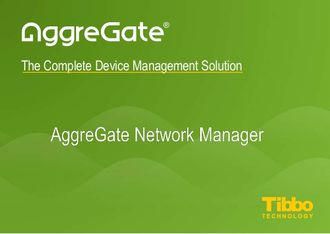 Tibbo AggreGate Network Manager