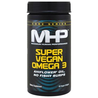 MHP Super Vegan Omega 3, 90 Veggie Softgels