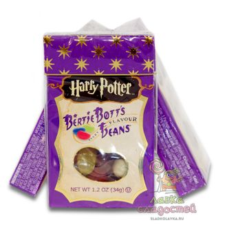Драже Jelly Belly Harry Potter Bertie Botts's 34гр! Волшебные Бобы!