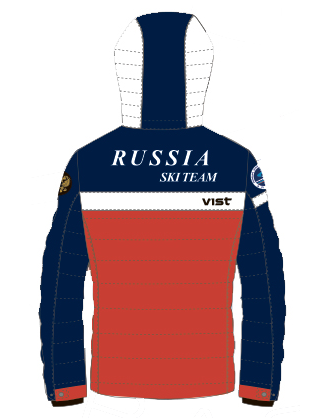 Куртка горнолыжная RUSSIAN TEAM VIST ICESTORM Down Jacket Man