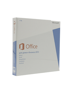 Microsoft Office 2013 home and business BOX DVD T5D-01763