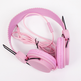 Наушники True Spin Basic Headphone Raspberry