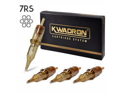 "7RSMT/0.35 - ROUND SHADER MEDIUM TAPER ""KWADRON"""