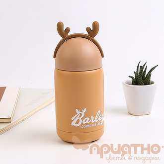 "Термос ""Deer"", (260ml) brown"