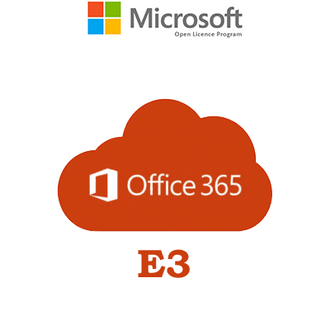 Microsoft Office 365 Plan E3 Open Shared Server Subscription VL OLP NL Annual Government Qualified