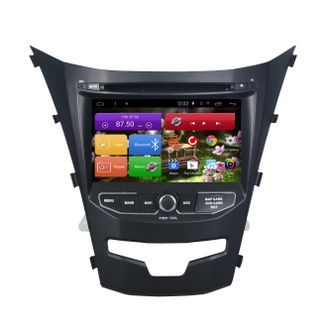 Автомагнитола MegaZvuk AD-7082 SsangYong Actyon II (2013+) на Android 6.0.1 Quad-Core (4 ядра) 7""