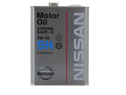 Моторное масло Nissan Strong Save X 5W-30 4л