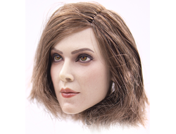 Женская голова (скульпт)  1/6 female head sculpture in Europe and America (B) - GACTOYS