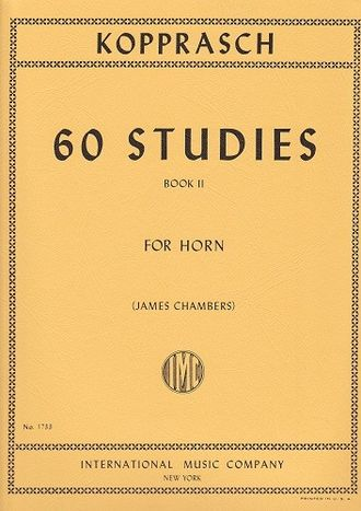 Kopprasch, 60 Studies for Horn (Band II)
