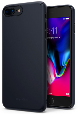 Чехол на Apple iPhone 7 Plus и 8 Plus, Ringke серия Slim, цвет черный (Black)