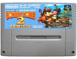 """Donkey Kong Country 2"" no box, Игра для Nintendo Super Famicom NTSC-Japan"