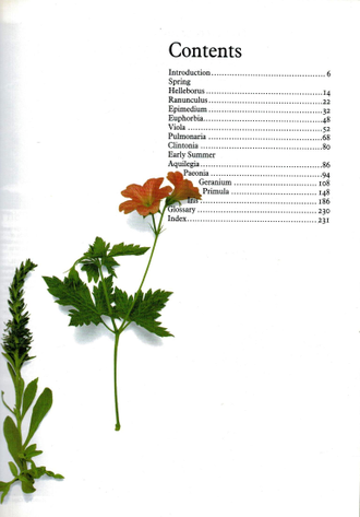 Perennials. Volume 1, Early Perennials