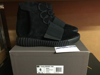 Yeezy Boost 750 Black Black