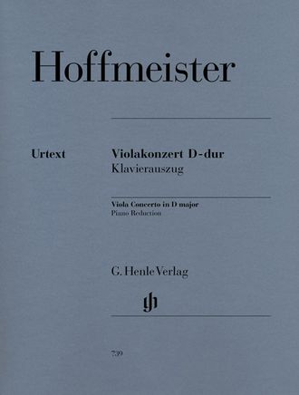 Hoffmeister Concerto D-dur fur Viola und Orchester (Piano Reduction)