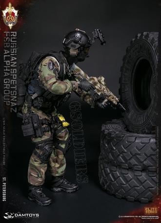 "Спецназ ФСБ ""Альфа"" ФИГУРКА 1/6 scale Aciton Figure RUSSIAN SPETSNAZ FSB ALPHA GROUP 78071 DAMTOYS"