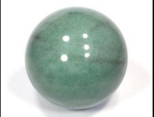 Шар Авантюрин зеленый, Зимбабве (60 мм, 297 г) №15298