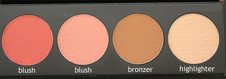 Палитра румян LA Girl Beauty Brick Blush 573 Spice