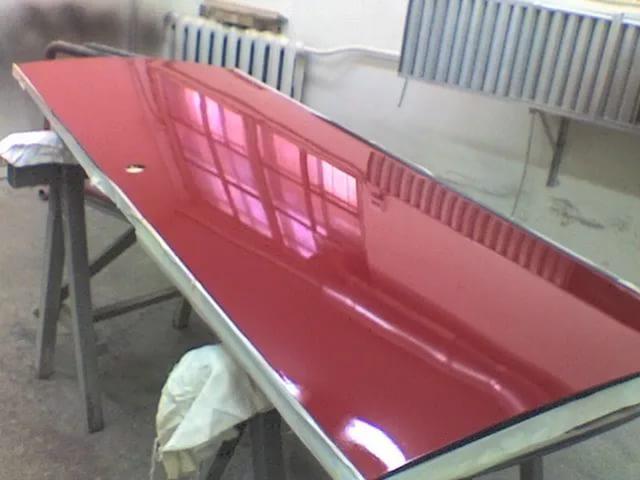покрасить железные двери
