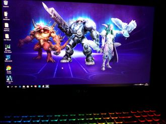 MSI GT72S 6QE-470RU DOMINATOR PRO G HEROES OF THE STORM SPECIAL EDITION