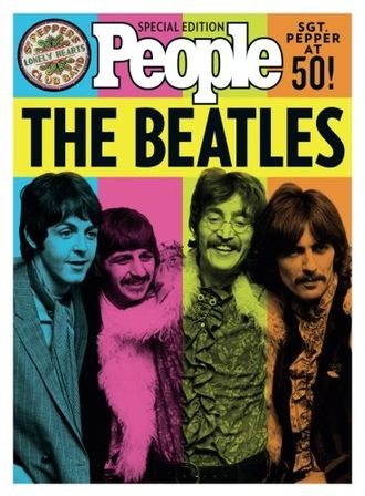 The Beatles PEOPLE Special Edition Sgt. Pepper At 50! Book Иностранные книги о музыке,, Intpress