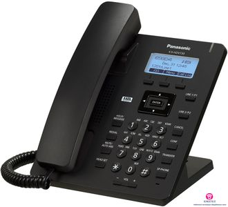 SIP-телефон Panasonic KX-HDV130RUB (черный)