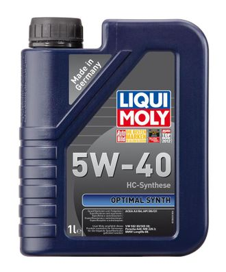 Liqui MOLY Optimal 5W40 1л