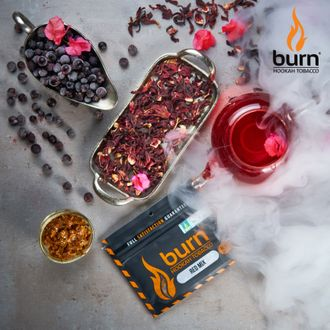 Табак Burn Red Mix Каркадэ 100 гр