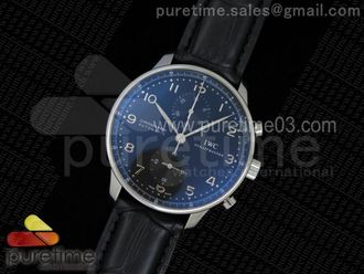 Portuguese Chrono IW371447 ZF 11 Best Edition on Black Leather Strap