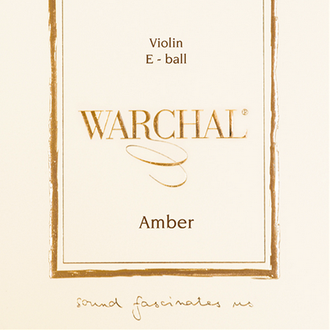Warchal Amber violin SET ball