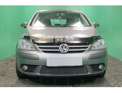 Защита радиатора Volkswagen Golf Plus 2005-2009 black