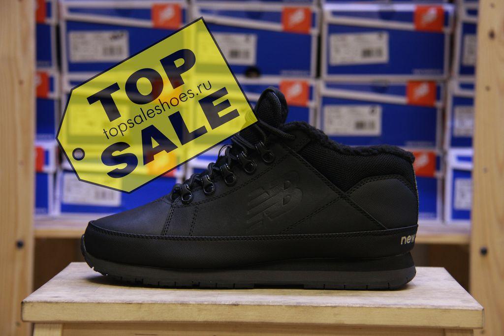 Мужская зимняя обувь - Зимние New Balance 754 All black купить кроссовки  new balance 754 вьетнам утепленныепо акции с доставкой 2bbbd9eb76f