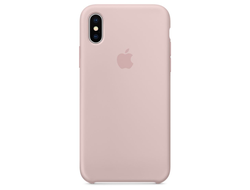 Чехол-накладка Apple Silicone Case iPhone Pink Sand