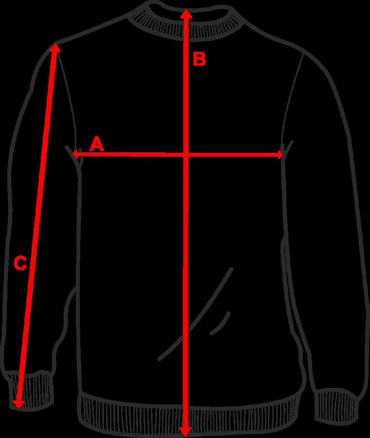 Размер свитшот женский