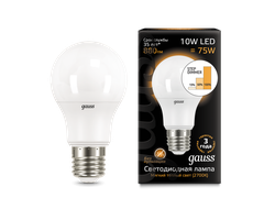 Gauss LED A60 10w 827/840 Step Dimmable E27