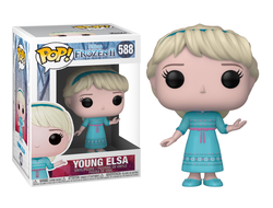 Купить Фигурку Funko Pop Фанко Поп Vinyl: Disney: Frozen 2: Young Elsa