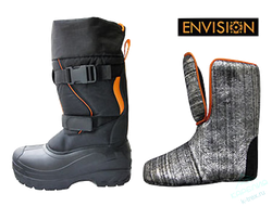 Сапоги Envision EBSST Snow Storm -70°C  3M Thinsulate - р.43  Black/Orange