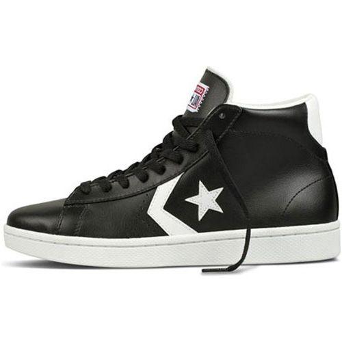 Купить кеды Converse мужские высокие черные размер 43 из натуральной ... 1f205ae509a