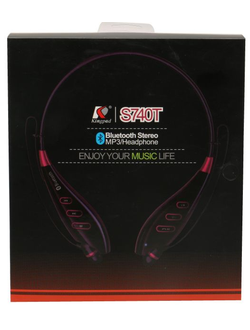 s740t wireless stereo mp3/headphone