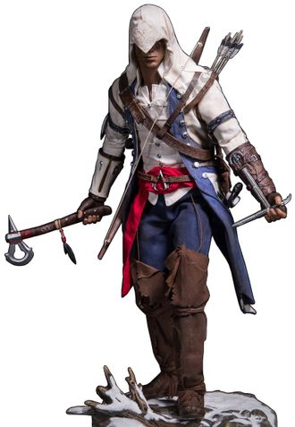 Ассасин Коннор (Ассасин Крид 3) - Коллекционная ФИГУРКА 1/6 scale Connor Collectible Figure Specifications Assassin's Creed III (DMS010) - Damtoys