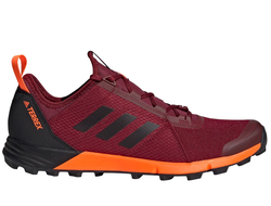 Adidas Terrex Agravic burgundy/core black/solar orange