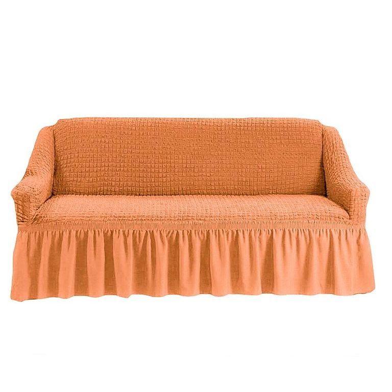 Чехол на диван, Коралловый 227