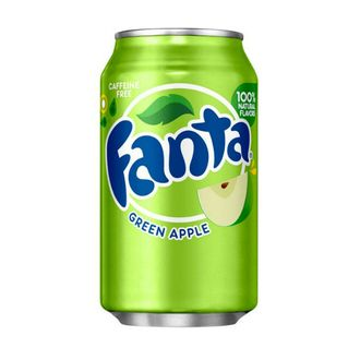 Газировка Fanta Green Apple из США