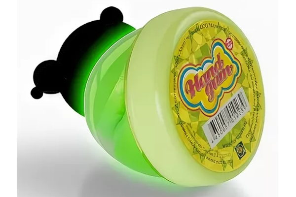 Светящийся зеленый -жвачка для рук (HandGum) 35 г