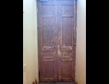 Внутренняя сторона дверей после зачистки.
