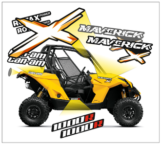 BRP can-am Maverick 2013 2014 2015  Стандарт