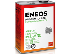 Масло моторное ENEOS Premium TOURING 5W-30 4л 8809478942216