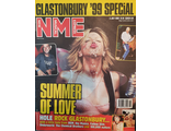 NME Magazine 3 July 1999 Glastonbury, Cortney Love Cover Иностранные журналы, Intpressshop